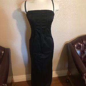 Dolce Gabbana black dress size 42